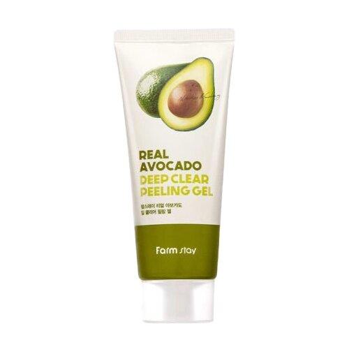Купить Farmstay пилинг-гель для лица Deep Clear Peeling Gel Real Avocado 100 мл