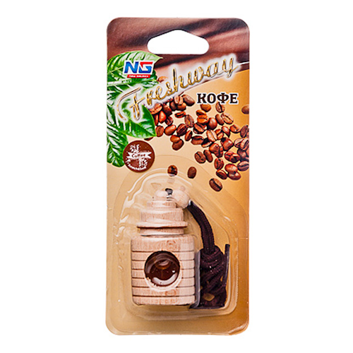 NEW GALAXY Ароматизатор для автомобиля Freshway Кофе