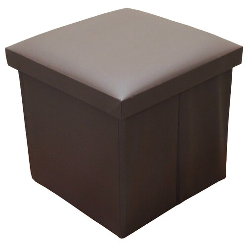 Пуфик с ящиком для хранения Тематика складной искусственная кожа коричневый пуфик с ящиком для хранения удачная покупка ryp56 38 искусственная кожа черный
