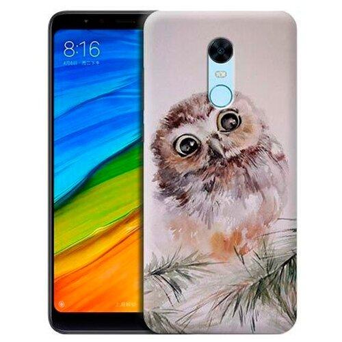 Купить Чехол Gosso 699531 для Xiaomi Redmi 5 Plus совенок