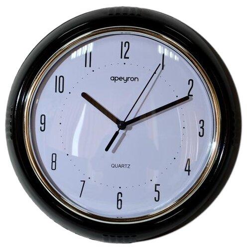 Фото - Часы настенные кварцевые Apeyron PL 6381 черный часы настенные кварцевые apeyron diy 2303 черный