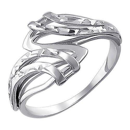 Эстет Кольцо из серебра 01К755001, размер 18