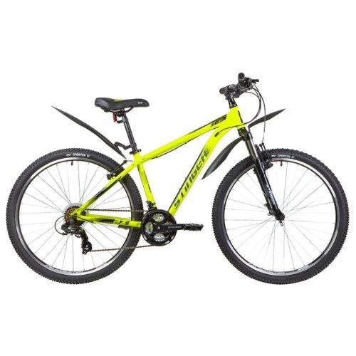 Горный (MTB) велосипед Stinger Element STD 27.5 (2020) с крыльями зеленый 16