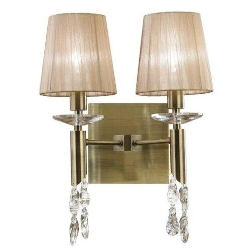 Настенный светильник Mantra Tiffany 3883, 50 Вт настенный светильник mantra bahia 5232 16 вт