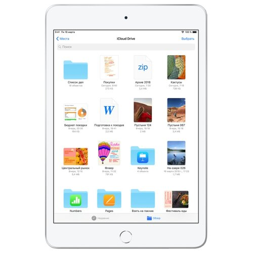 Купить Планшет Apple iPad mini (2019) 64Gb Wi-Fi silver