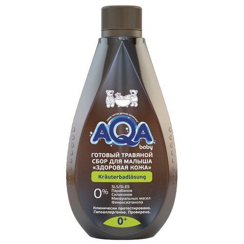 AQA baby Готовый травяной сбор для малыша Здоровая кожа 500 мл