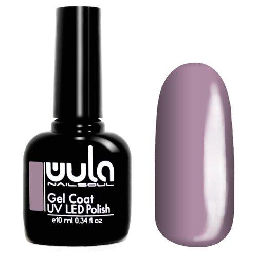 Гель-лак для ногтей WULA Gel Coat, 10 мл, оттенок 417 серо-лиловый гель лак для ногтей wula gel coat 10 мл оттенок 367 серо зеленый