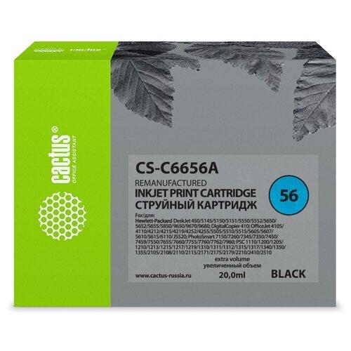Фото - Картридж cactus CS-C6656A 56, совместимый картридж cactus cs tn1075