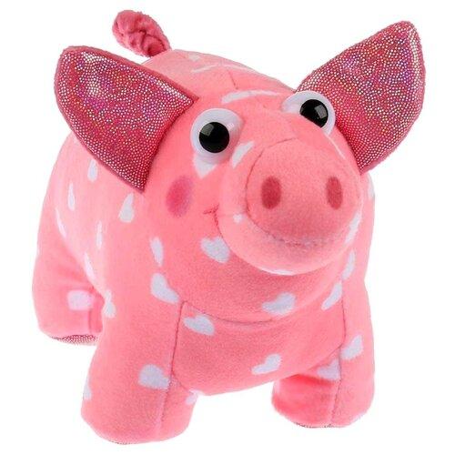 Купить Мягкая игрушка Мульти-Пульти Деревяшки Поросёнок Хрю 15 см, без чипа, Мягкие игрушки