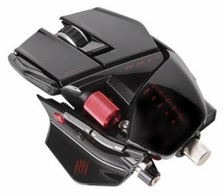 Мышь Mad Catz R.A.T.9 Wireless Gaming Mouse Gloss Black USB