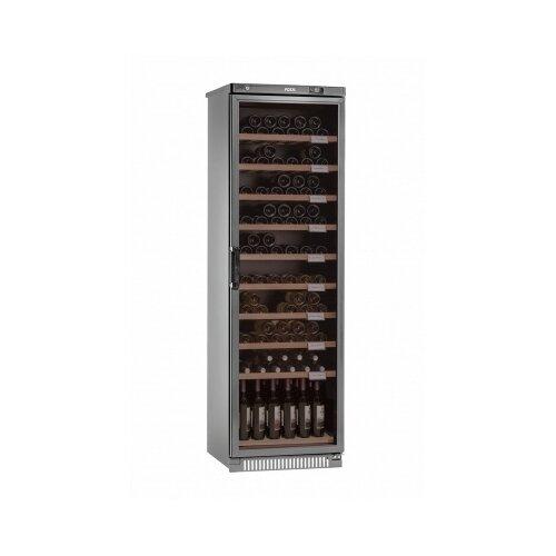 Винный шкаф Pozis ШВ-120 серебристый
