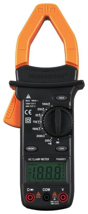 Токовые клещи Peakmeter PM2001