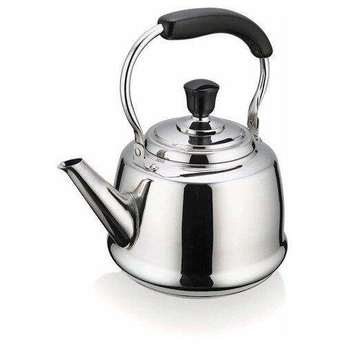 Beka Чайник со свистком Claudette 12028444 2.5 л, серебристый