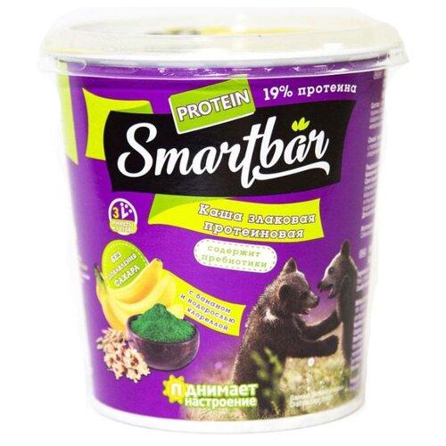Smartbar Каша злаковая, с протеином, изюмом, бананом и водорослей хлореллой 40 г