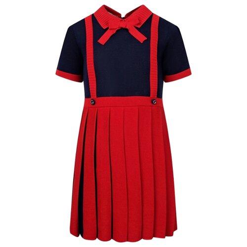 Платье GUCCI размер 104, красный/синий туника gucci размер 104 красный