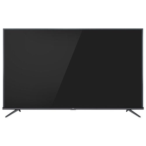 Телевизор TCL L65P8MUS 65 (2019) стальной 4k uhd телевизор tcl l 65 p6us metal серебристый