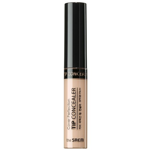 The Saem Консилер Cover Perfection Tip Concealer, оттенок 1.75 Middle Beige the saem консилер стик cover perfection stick concealer оттенок 02 rich beige