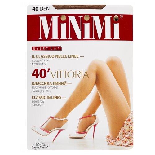 Колготки MiNiMi Vittoria 40 den, размер 3-M, daino (бежевый) колготки minimi vittoria 20 den размер 3 m daino бежевый