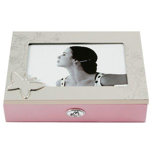 Moretto Шкатулка 139608 розовый/серебристый фото