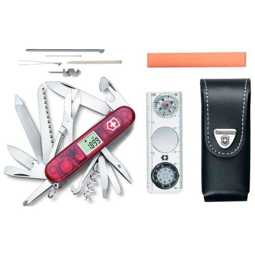 Набор нож VICTORINOX Expedition Kit (44 функций) с чехлом полупрозрачный красный набор инструментов victorinox expedition kit