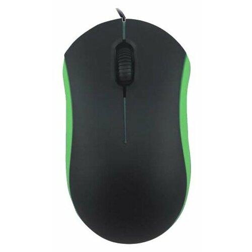 Мышь Ritmix ROM-111 Black-Green USB зеленый мышь ritmix rom 111 black grey usb серый