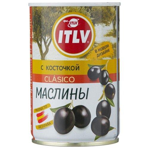 ITLV Маслины Clasico с косточкой, жестяная банка 314 мл бояринъ маслины с косточкой жестяная банка 314 мл