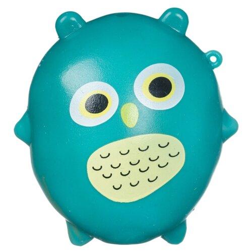 Игрушка-мялка BONDIBON Липучка-тянучка Сова (ВВ4304) голубой