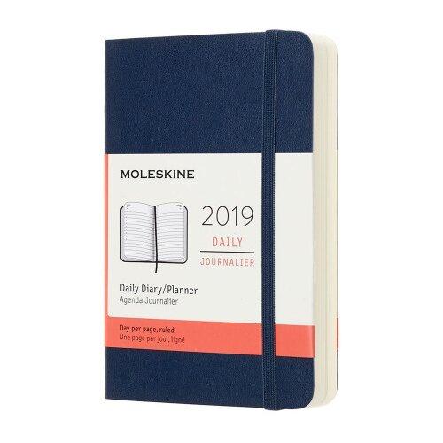 moleskine ежедневник Ежедневник Moleskine Classic Soft Large, синий сапфир, 400 страниц, 90x140 мм