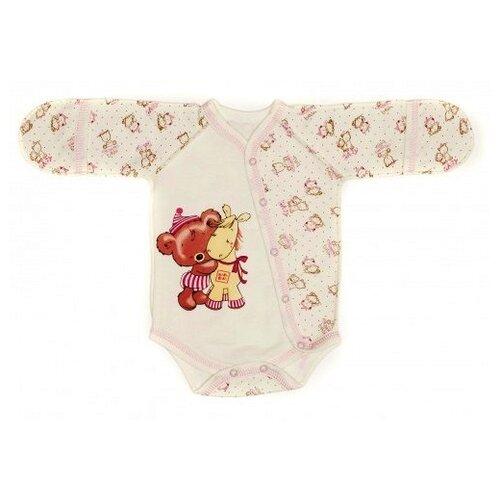 Купить Боди Babyglory размер 56, розовый