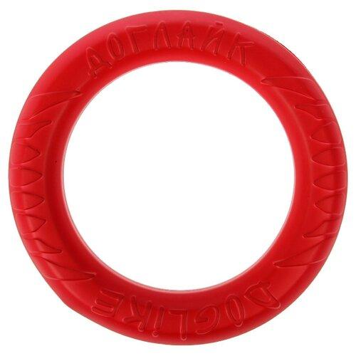 Кольцо для собак Doglike Снаряд Tug&Twist для профессиональной дрессировки средний (D-1287) коралловый
