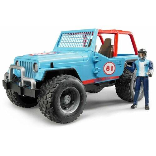 Фото - Внедорожник Bruder Jeep Cross Counrty Racer (02-541) 29 см голубой внедорожник bruder jeep cross counrty racer 02 541 29 см голубой