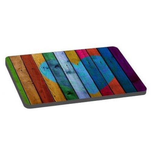 Лежак для собак PerseiLine Радужный 3 80х55х6 см разноцветный
