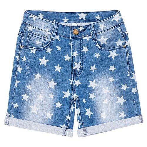 Шорты playToday размер 98, голубой шорты playtoday размер 98 серый