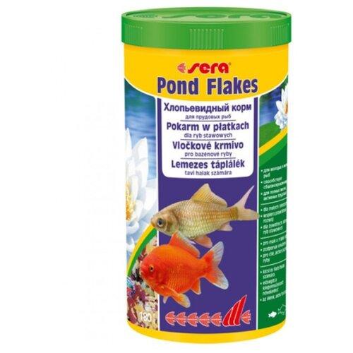 Сухой корм для рыб Sera Pond Flakes 1000 мл 180 г