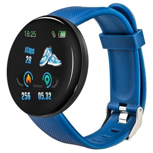 Умные часы ZDK Action Blood Pressure 78 синий  - купить со скидкой