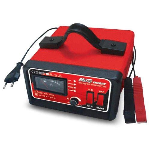 Зарядное устройство AVS Energy BT-6025 красный зарядное