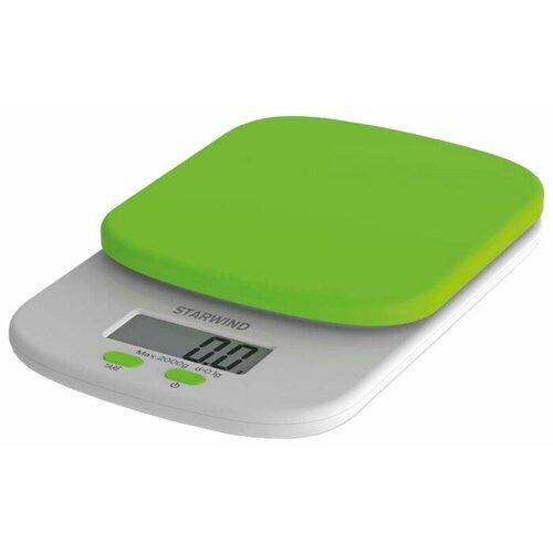 Кухонные весы STARWIND SSK2155/2156/2157/2158 зеленый весы кухонные starwind ssk2259 желтый