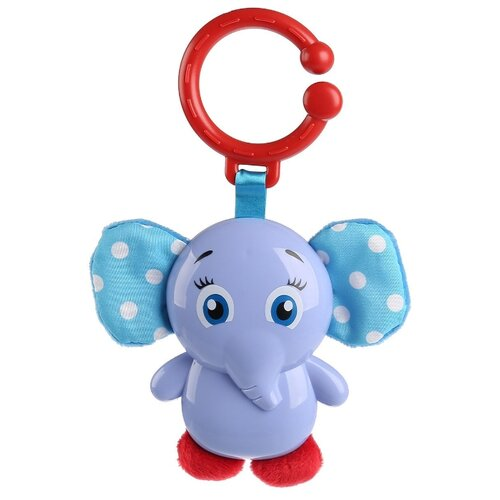 Подвесная игрушка Умка Мой слоненок (1812M001-R) голубой по цене 269