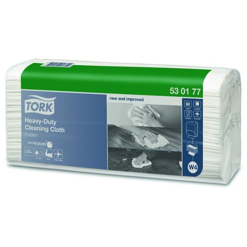 Нетканый материал Tork Premium W4 повышенной прочности 60 листов