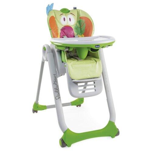 Купить Стульчик для кормления Chicco Polly2Start parrot, Стульчики для кормления
