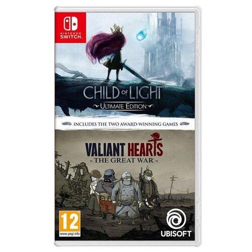 Игра для Nintendo Switch Комплект Child of Light Ultimate Edition + Valiant Hearts свитшот print bar child of light