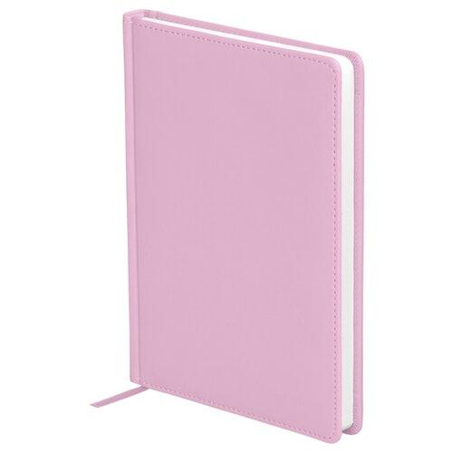 Ежедневник OfficeSpace Winner недатированный, искусственная кожа, А5, 136 листов, розовый ежедневник officespace winner недатированный искусственная кожа а5 136 листов розовый