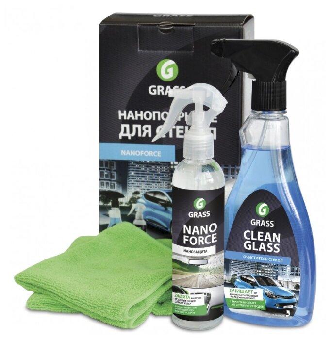 Комплект для обработки стекол автомобиля GraSS NanoForce NF05