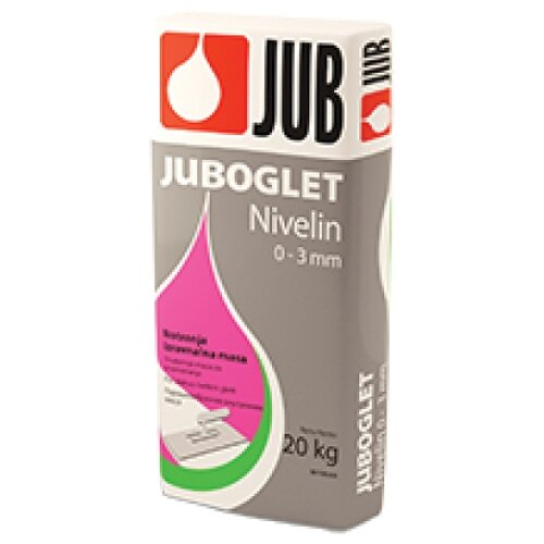 Шпатлевка цементная для внутр. Работ JUBOGLET NIVELIN 20 КГ белая (1/48) JUB