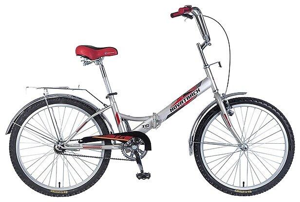Подростковый городской велосипед Novatrack FS-24 1 V (2018)