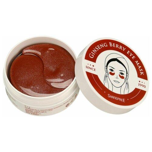 Shangpree Гидрогелевые патчи для глаз с женьшенем Ginseng Berry Eye Mask (60 шт.) гидрогелевые патчи shangpree
