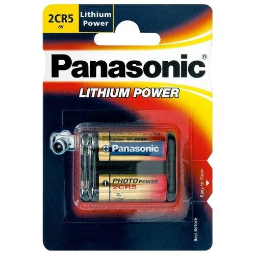 Купить Батарейка Panasonic Lithium Power 2CR5 1 шт блистер