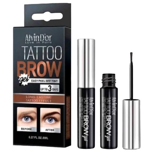 Alvin D'or тинт Tattoo Brow Gel, оттенок 01 chocolate brown