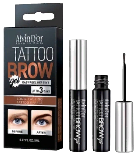 Alvin D'or тинт для бровей Tattoo Brow Gel