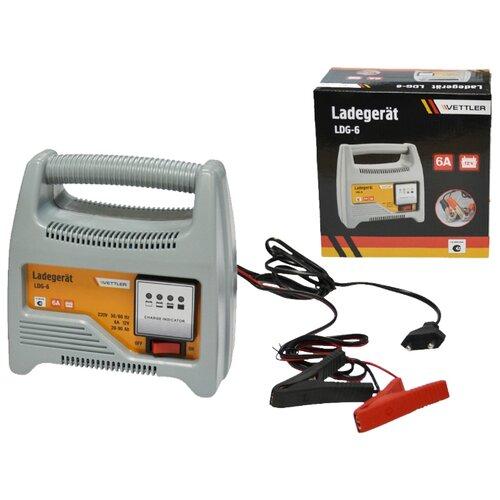 Зарядное устройство для автомобиля Vettler LDG-612В 6A (для АКБ до 90 Ач)